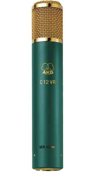 AKG C12 VR Reference multipattern tube condenser microphone