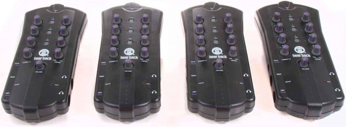 Hear Technologies Hear Back PRO Four Pack Mode