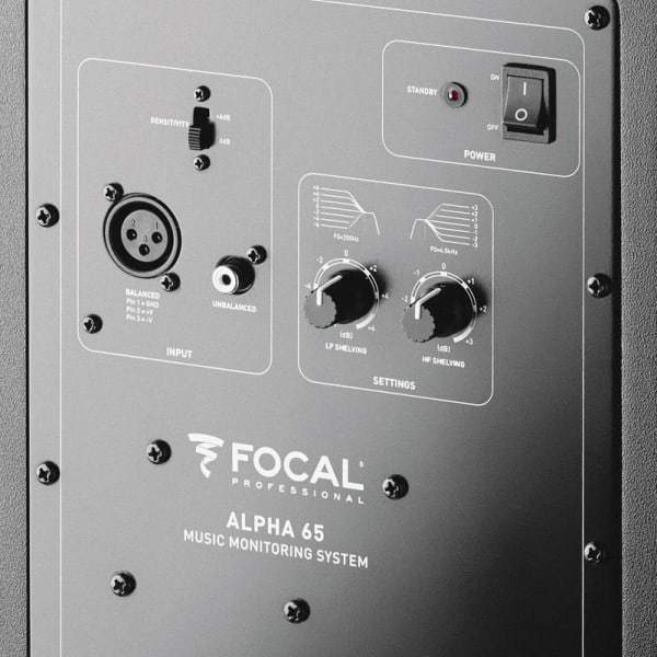 Focal Alpha 65 2-Way Active Monitor - Pair