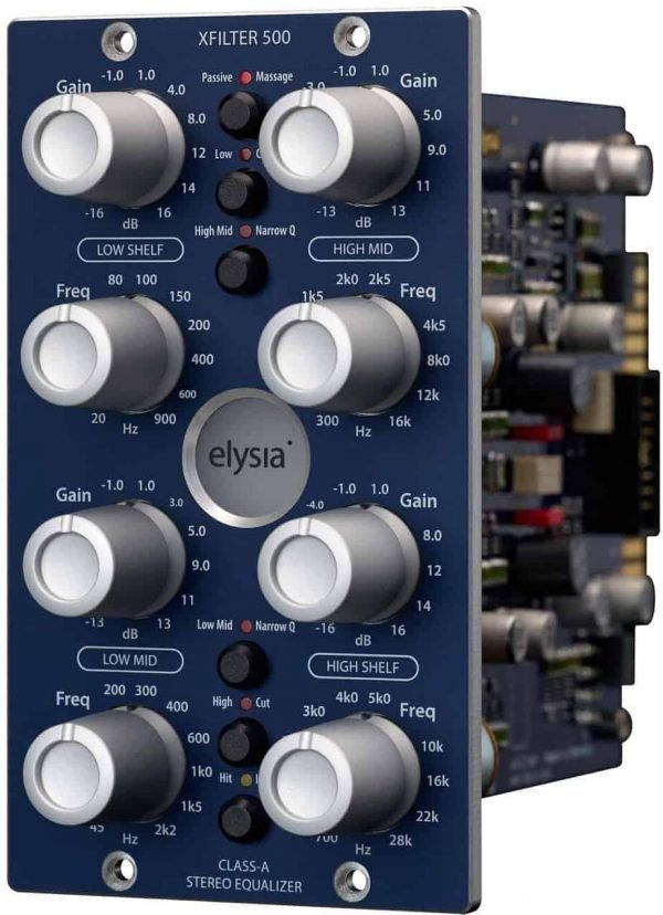 Elysia Xfilter 500 - The Universal Equalizer -15414