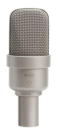 Microtech Gefell M 950 Wide Cardioid Studio Condenser Microphone Play Mode