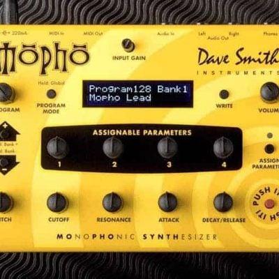 Dave Smith Mopho Desktop Synthesizer Module