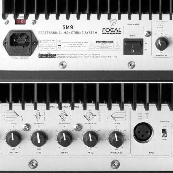 Focal SM9 3-Way Midfield Active Monitor - Pair