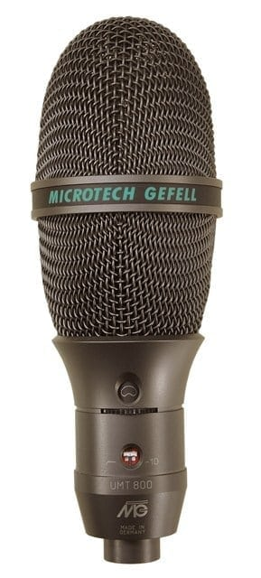 Microtech Gefell UMT 800 Switchable Condenser Microphone