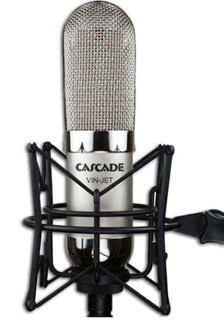 Cascade Vin-Jet Microphone Stereo Blumlein Pair
