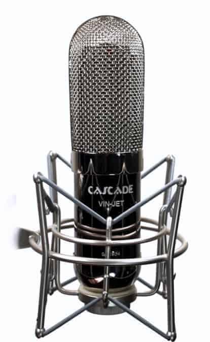 Cascade Vin-Jet Microphone Stereo Blumlein Pair Mode