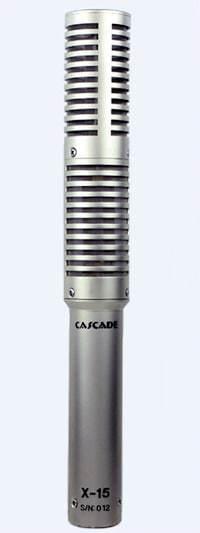 Cascade X-15 Stereo Short Ribbon Microphone