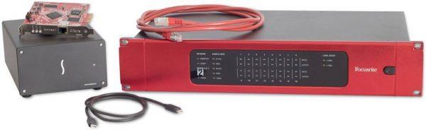 Focusrite RedNet 2 + PCIe Native 16x16 I/O Package