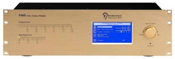 Fredenstein F660 Limiting Amplifier Front Mode