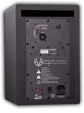 Eve Audio SC207 Monitor - Pair Rear Mode