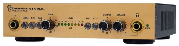 Fredenstein V.A.S. Microphone Preamp Front Mode