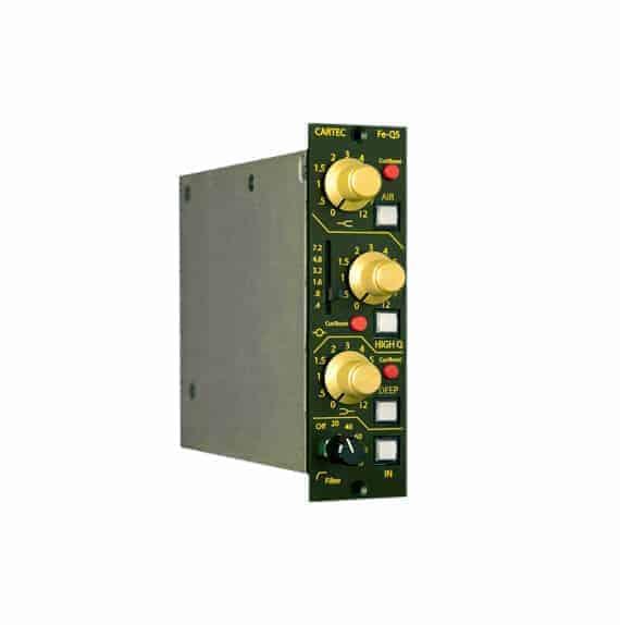 Cartec Audio Pre-Q5 500-series Preamp and EQ Mode