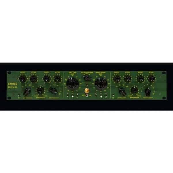 Cartec Audio Pre-EQ-2A Dual Channel Pre amp and EQ Mode