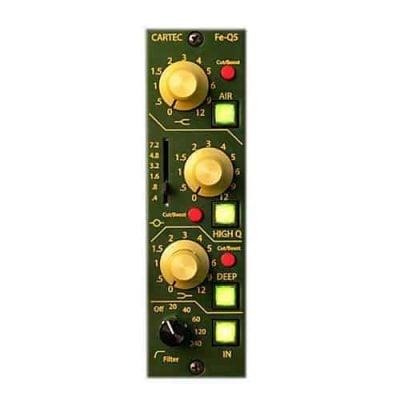 Cartec Audio Pre-Q5 500-series Preamp and EQ