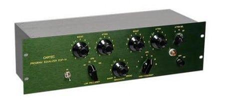 Cartec Audio EQP-1A Tube EQ Mode