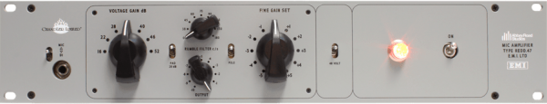 Chandler Limited REDD.47 Microphone Preamp (with internal power supply)
