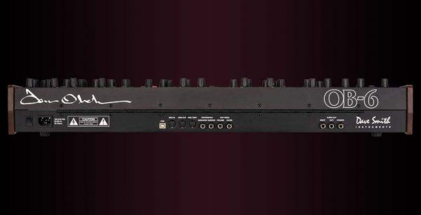 Dave Smith OB-6 Keyboard Rear Mode