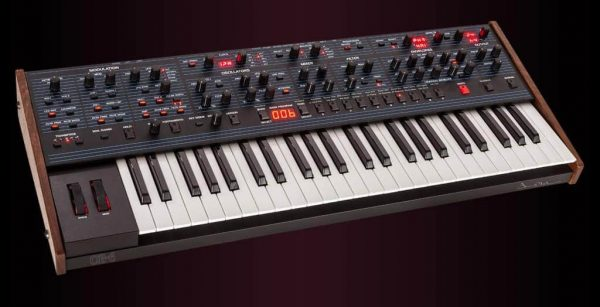 Dave Smith OB-6 Keyboard Left Mode