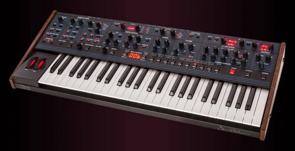 Dave Smith OB-6 Keyboard Right Mode