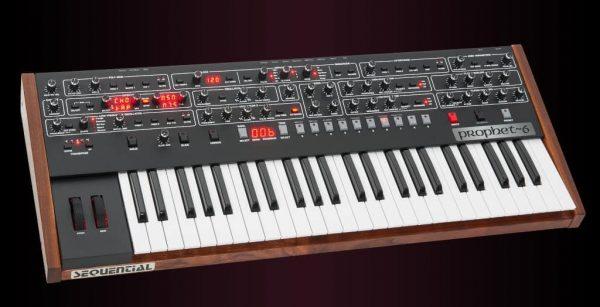 Dave Smith Prophet 6 Keyboard Left Mode