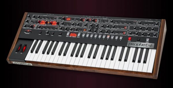 Dave Smith Prophet 6 Keyboard Right Mode