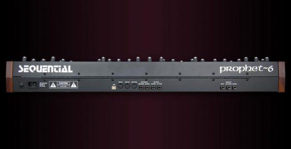 Dave Smith Prophet 6 Keyboard Rear Mode