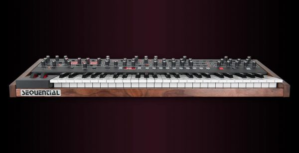 Dave Smith Prophet 6 Keyboard Front Mode
