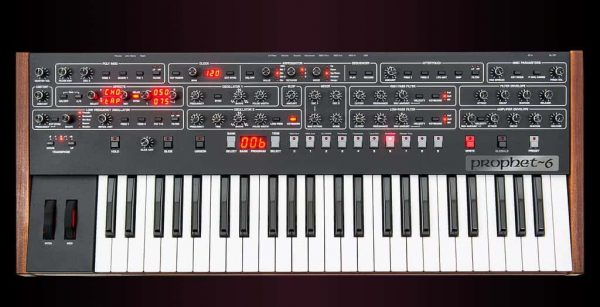 Dave Smith Prophet 6 Keyboard Top Mode