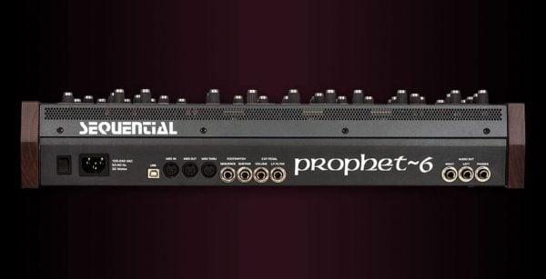 Dave Smith Prophet 6 Module Rear Mode