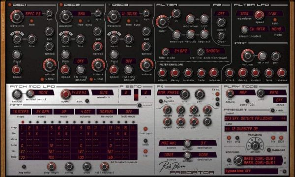 Rob Papen EDM Virtual Synthesizer Bundle (Electronic Delivery Only)