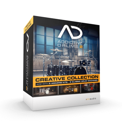 XLN Audio Addictive Drums 2 Creative Collection VST, AU, AAX