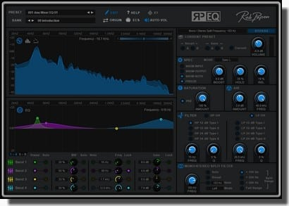 Rob Papen RP-EQ effect plugin