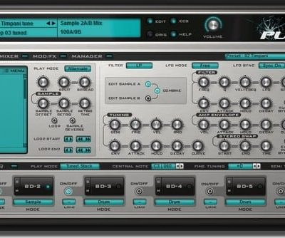 Rob Papen Punch-BD Virtual Bassdrum Synthesizer (Electronic Delivery Only)