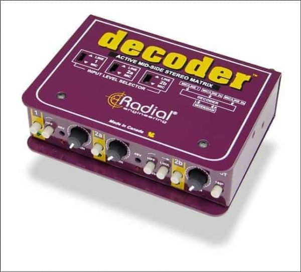 Radial Decoder Mid/ Side Matrix and Mic Preamp