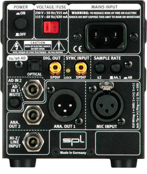 SPL Gain Station 1 AD w/ Digital Output