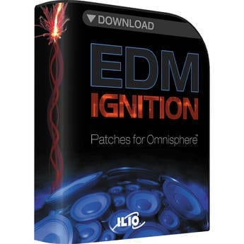 ILIO EDM Ignition (Patches for Omnisphere) Fast eDelivery