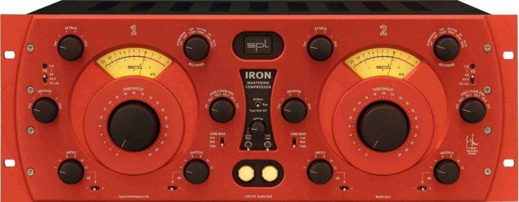 SPL Iron Mastering Compressor - Red