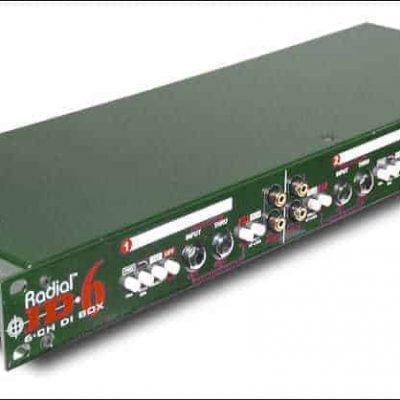 Radial JD6 Six Channel Rackmount DI