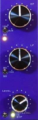 Purple Audio Lilpeqr - 2 Band Program EQ MODULES