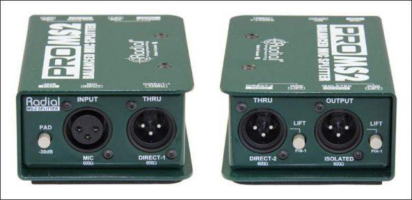 Radial Pro MS2 Passive Microphone Splitter