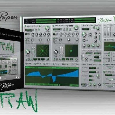 Rob Papen RAW Virtual Synthesizer Plugin (Electronic Delivery Only)