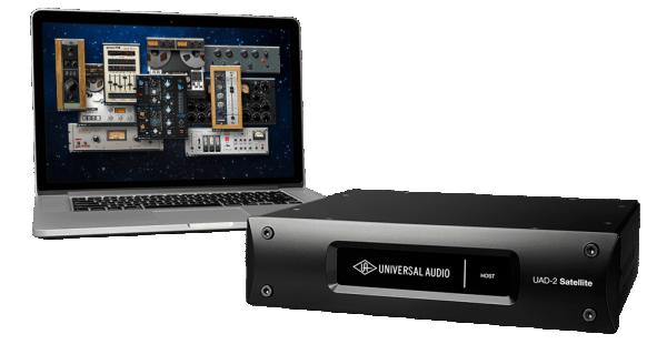 Universal Audio UAD-2 Satellite Thunderbolt - OCTO Core (Open Box)