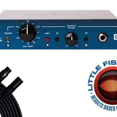Black Lion Audio B173 Mic Preamp + 15' Mogami XLR