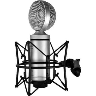 Cascade Fat Head II Active/Passive Ribbon Microphone in Silver