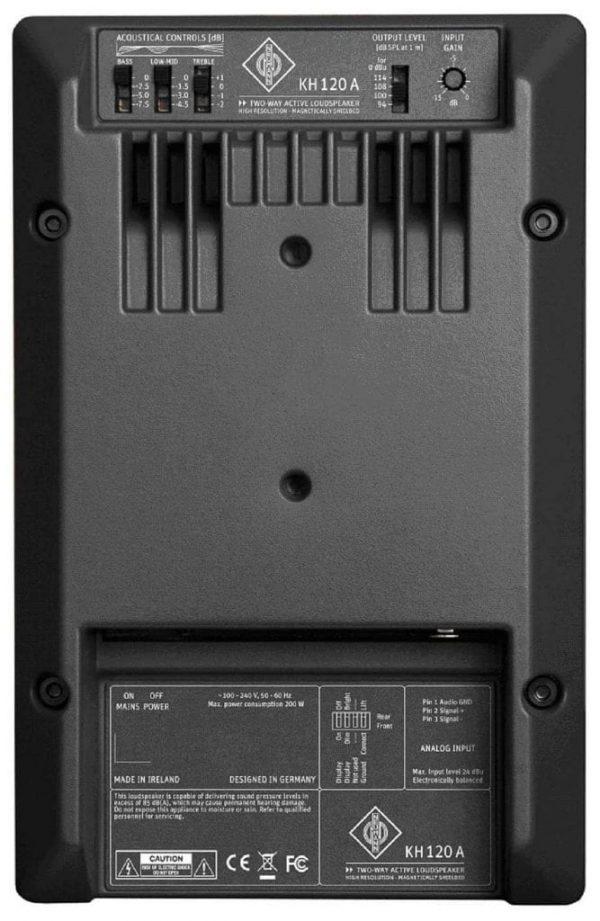 Neumann KH 120 A Active Studio Monitor - Back