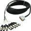 Little Fish Audio 6ft 8-Channel XLRF-DBSUB Snake