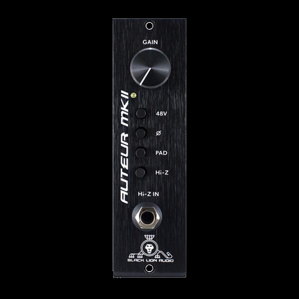 Black Lion Audio Auteur 500 Series Preamp