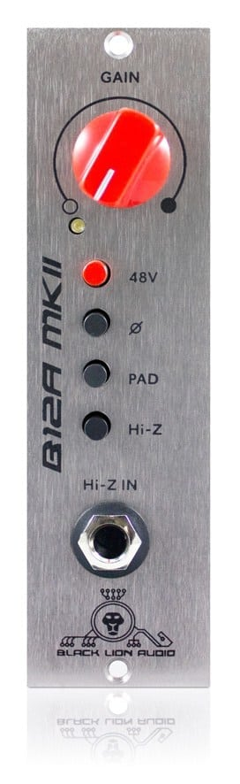 Black Lion Audio B12A MKII 500 Series Preamp