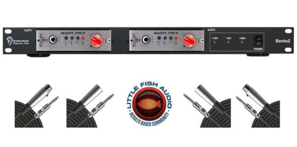 Fredenstein Bento 2 500 Series Chassis + BLA B12A MKII Pair & Cables!