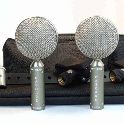 Cascade Fat Head BE Short Ribbon Microphone Stereo Pair